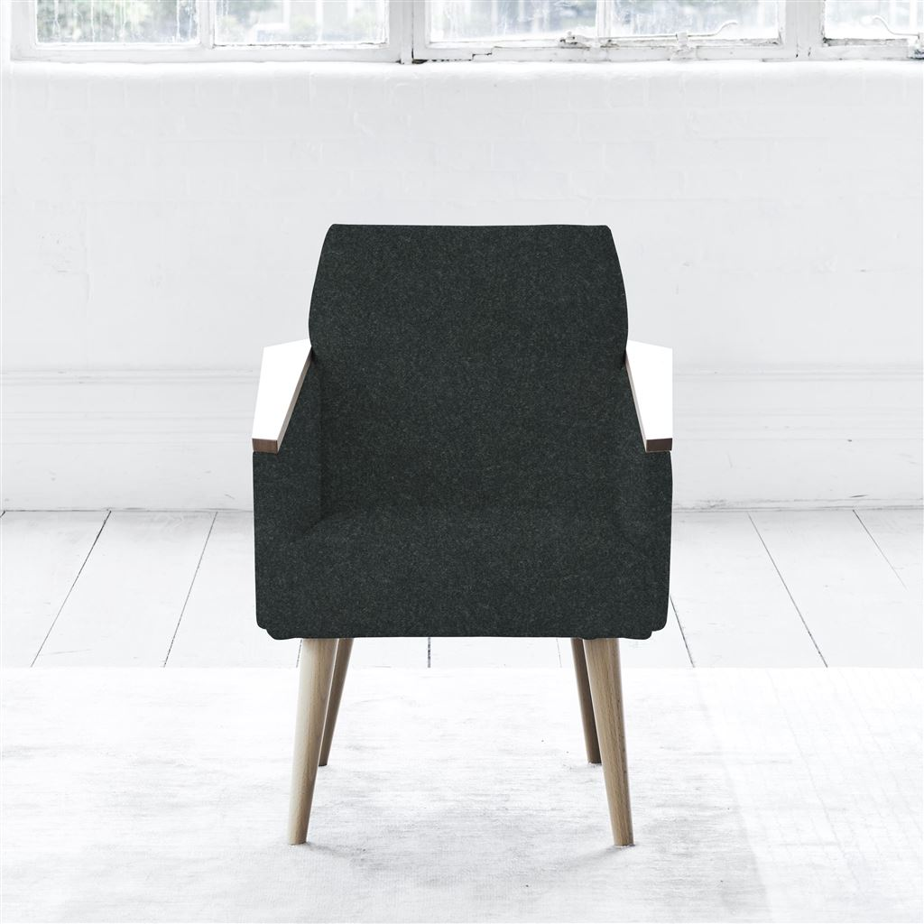 Ray Chair - Beech Leg - Cheviot Noir