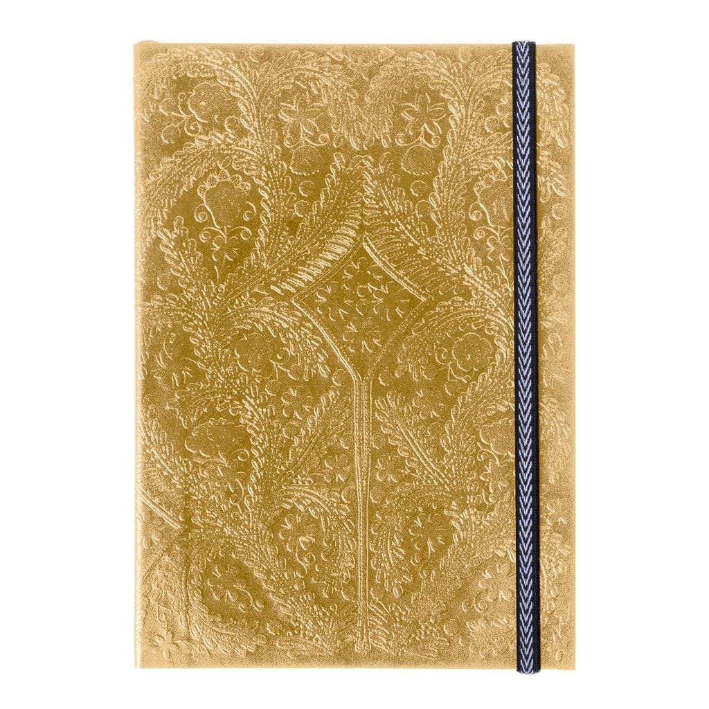 CHRISTIAN LACROIX PASEO GOLD A5 NOTEBOOK 21X14.8X0.5CM
