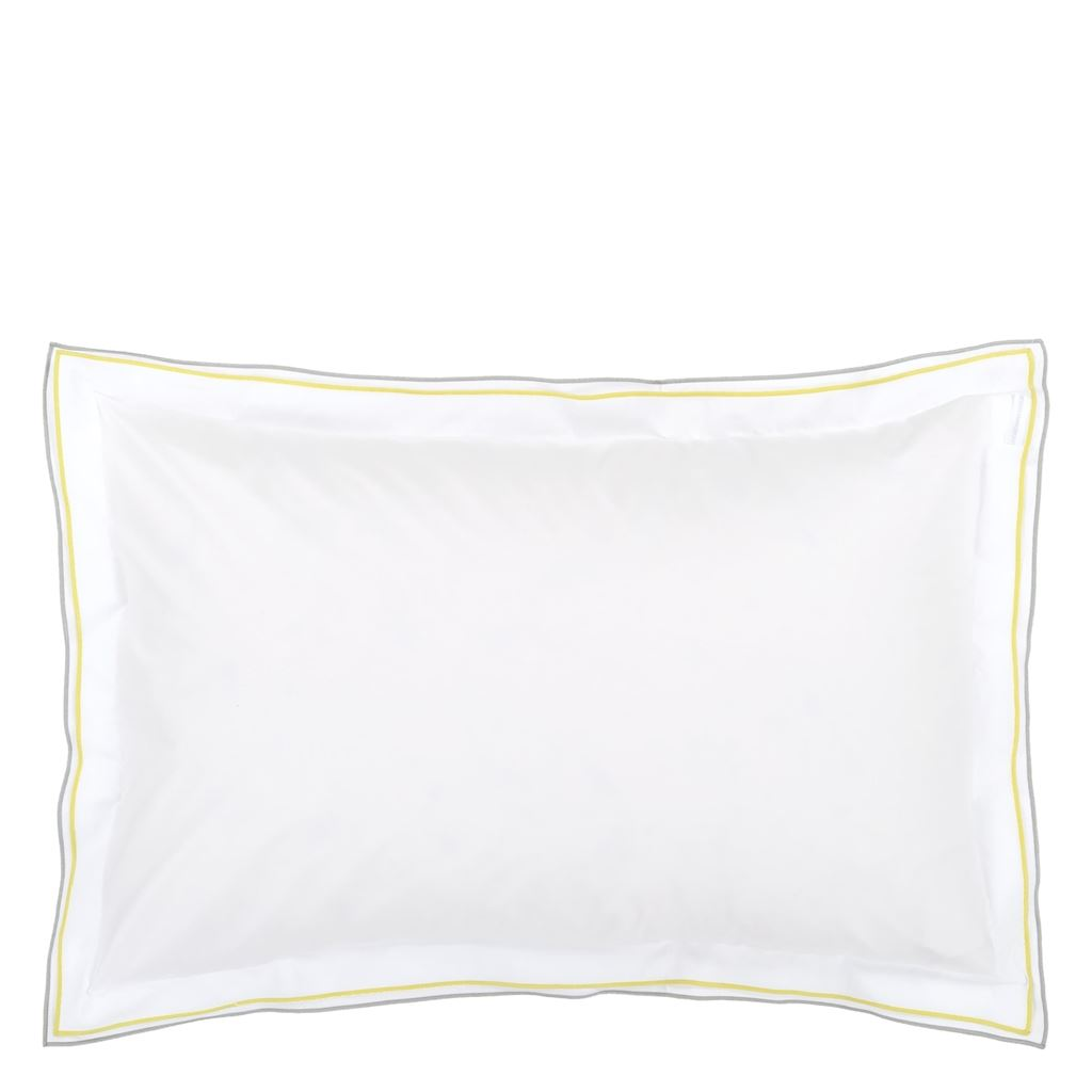 Astor Grey & Alchemilla Oxford Pillowcase 75x50cm