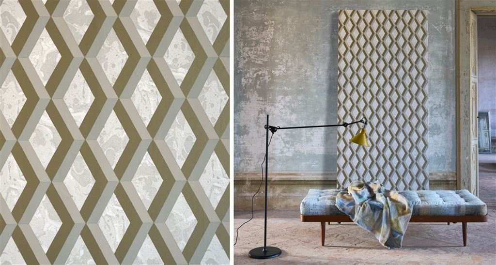 Luxury Wallpapers Geometric Plain Damask Floral Designers Guild