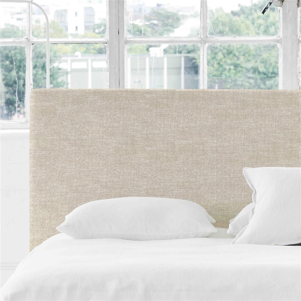 Square Single Headboard Conway - Linen