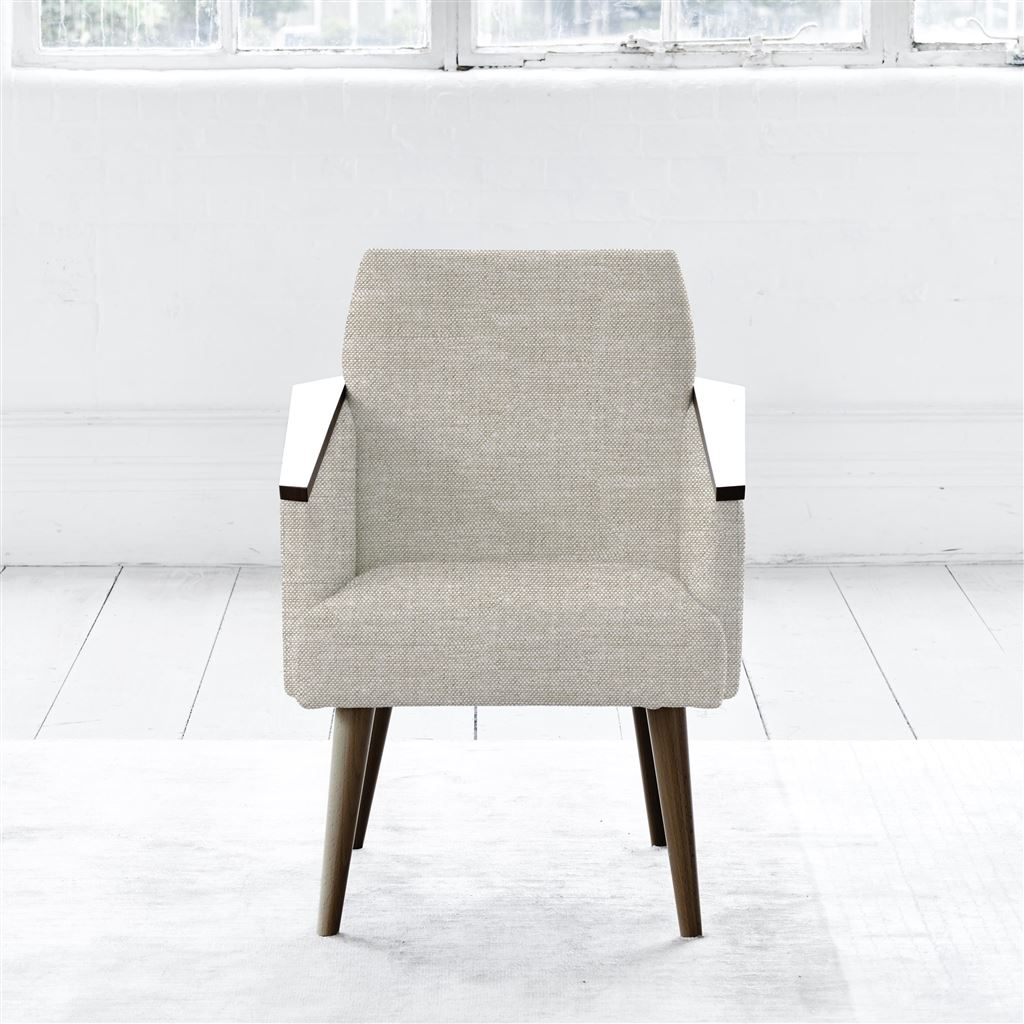 Ray Chair - Walnut Leg - Conway - Linen