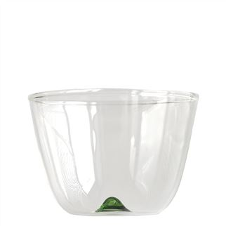 Green Bambus Party Glass