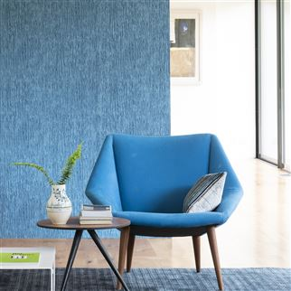 varese - azure fabric | Designers Guild Essentials