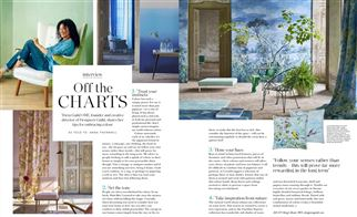 Tricia Guild feature in Kensington & Chelsea magazine, UK