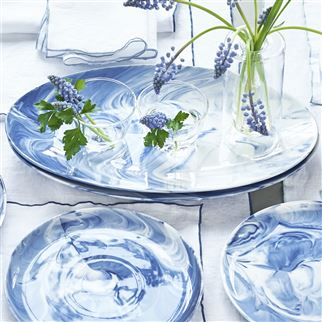 Blue Marble Side Plate | Designers Guild