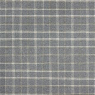 Dickens Wool Check Smoke