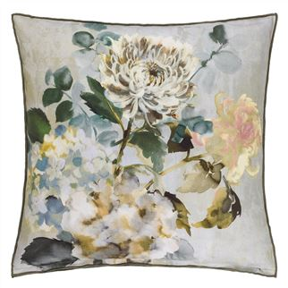 Adachi Celadon Decorative Pillow