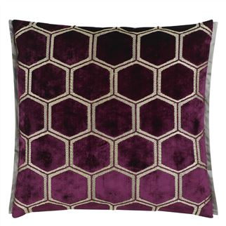 Manipur Damson Decorative Pillow