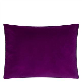 Cassia Damson Decorative Pillow