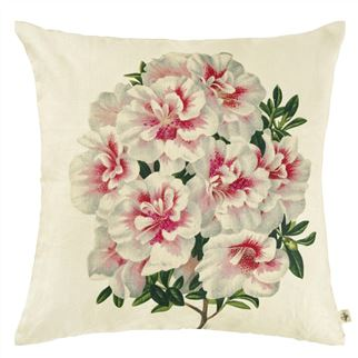 Variegated Azelea Decorative Pillow