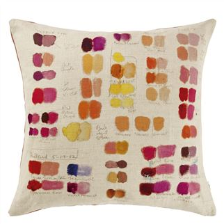 Mixed Tones Fuchsia Cushion