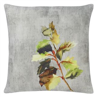 Indian Sunflower Grande Berry Cushion - Reverse