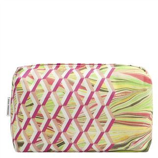Jourdain Fuchsia Medium Toiletry Bag