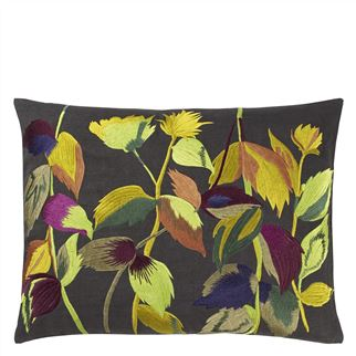 Maruko Graphite Decorative Pillow