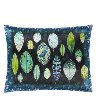Tulsi Cobalt Cushion