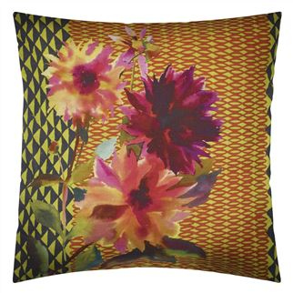 Manchu Alchemilla Decorative Pillow