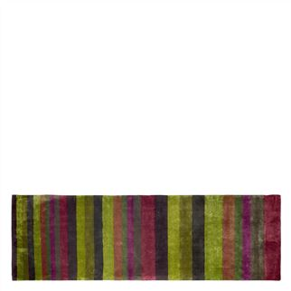 Tanchoi Berry Runner Rug