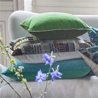 Coussin Varese Emerald | Designers Guild