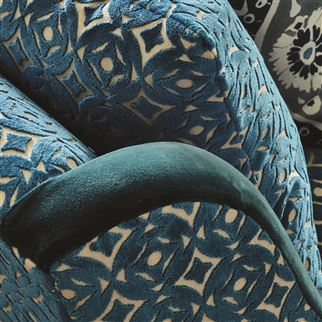 Dennise Stone Fabric | William Yeoward