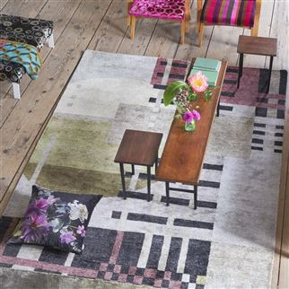 Chandigarh Berry Rug | Designers Guild