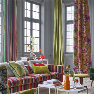 Tanchoi Berry Fabric | Designers Guild