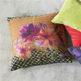Manchu Alchemilla Decorative Pillow | Designers Guild
