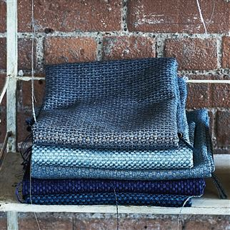 Barden Indigo Fabric | Designers Guild Essentials