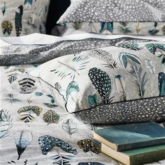 Quill Duck Egg Bed Linen
