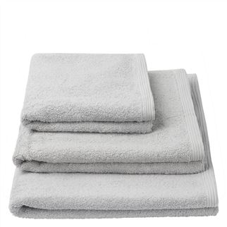Thirlmere Pale Grey Towels