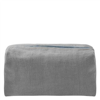 Brera Lino Pewter Large Toiletry Bag