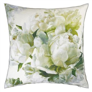 Peonia Chartreuse Decorative Pillow