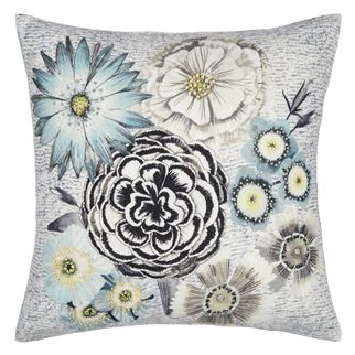 Millefiori Delft Cushion