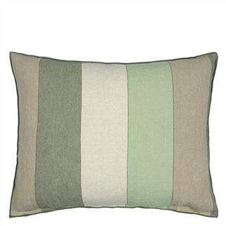 Brera Gessato Jade Decorative Pillow
