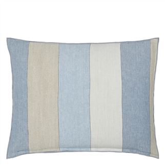 Brera Gessato Delft Decorative Pillow