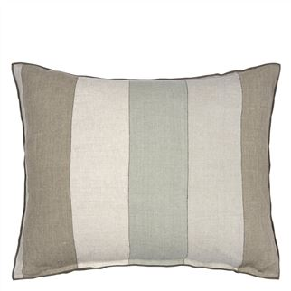 Brera Gessato Zinc Decorative Pillow