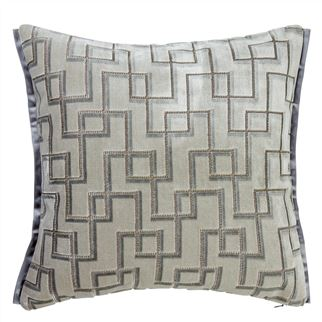 Jeanneret Platinum Decorative Pillow