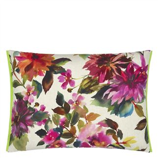 Manchu Outdoor Fuchsia Cushion