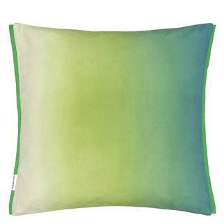 Brahmi Outdoor Leaf Cushion - Reverse