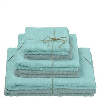Thirlmere Aquamarine & Ocean Towels Set