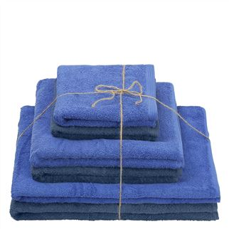 Thirlmere Cobalt & Indigo Towels Set