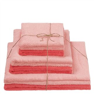 Thirlmere Blush & Watermelon Towels Set