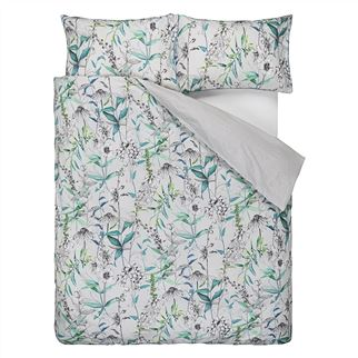 Emilie Emerald Superking Duvet Cover