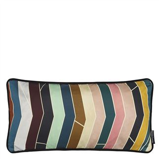 Pietra Dura Multicolore Cushion - Reverse