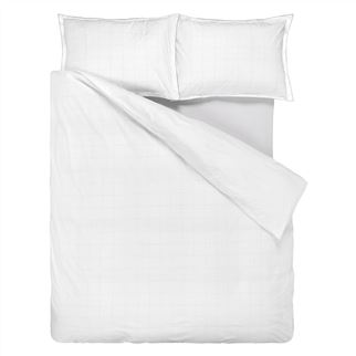 Westbourne Bianco Double Duvet Cover