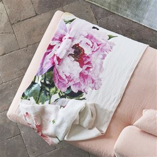 Tourangelle Peony Throw | Designers Guild