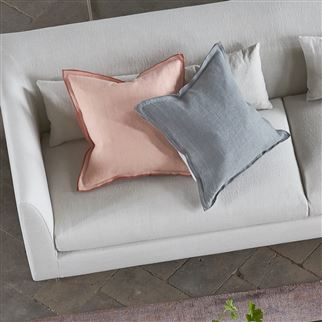 Milazzo Petal Plain Linen/Cotton Cushion | Designers Guild