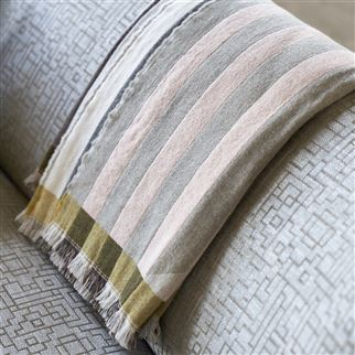 Palladio Platinum Fabric | Designers Guild