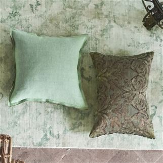 Milazzo Antique Jade Decorative Pillow | Designers Guild
