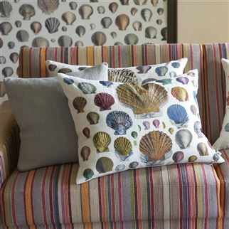 Race Point Sepia Fabric | John Derian